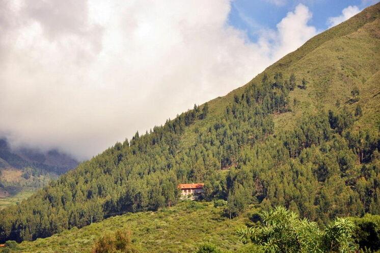 Unser Berghotel in der Tunari-Kordillere (5.-6. Tag)