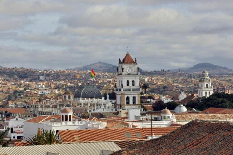 Sucre, die Hauptstadt Boliviens erreichen Sie am 8. Tag