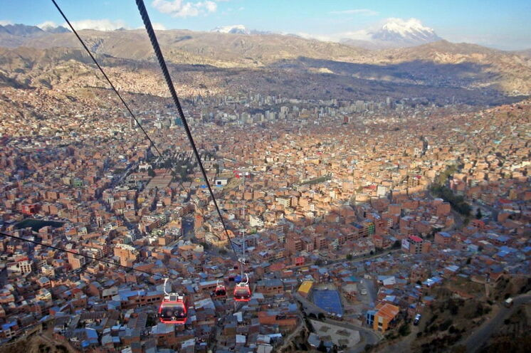 Am 16. Tag erreichen Sie La Paz.