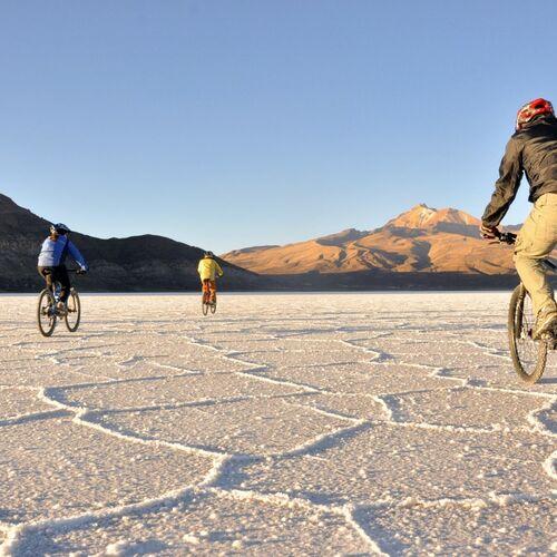 Bike-Tour durch die Anden