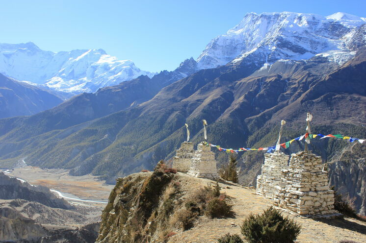 Lernen Sie die abwechslungsreiche Bergwelt Nepals intensiv zu Fuß kennen
