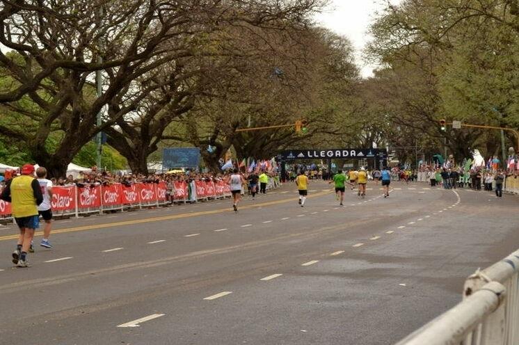 Der Buenos Aires Marathon führt durch die verschiedensten Viertel der bunten Hauptstadt