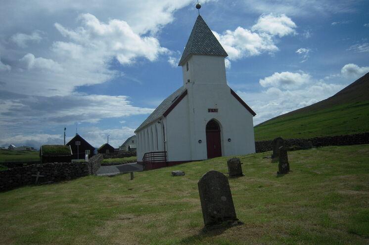 Beschauliche Kirche...
