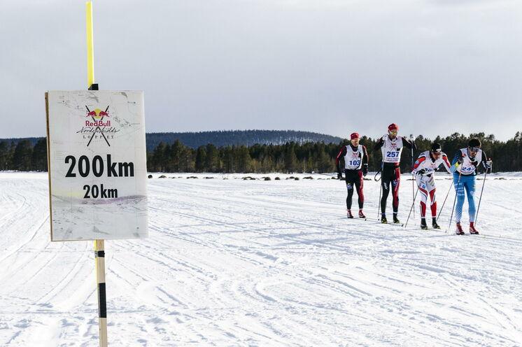 200 km sind geschaft... Nur noch 20 km, ein Kinderspiel :-)