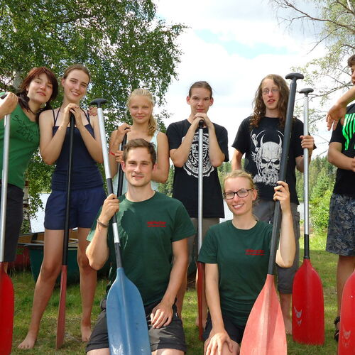 Jugendreise - Kanuabenteuer im Mittsommer Schwedens