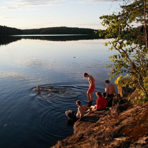 Jugendreise - Trekkingwoche im schwedischen Finnenwald