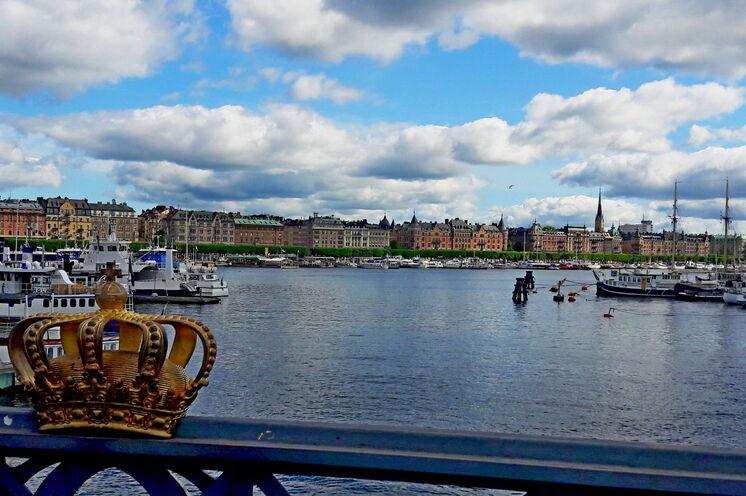 """Stockholm wird nicht zu unrecht """"Venedig des Nordens"""" genannt und ..."""