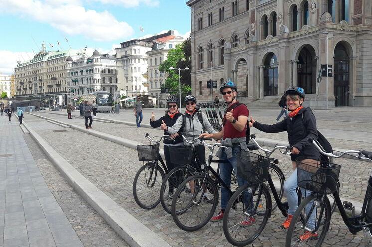 Der Tipp: Stockholm mit dem Fahrrad und mit deutschem Fahrrad-Guide erkunden