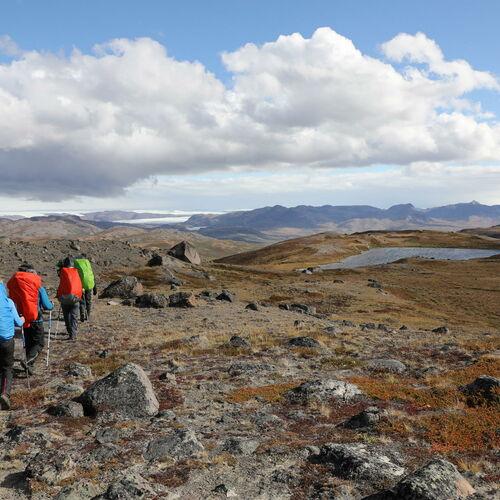 Wildnistrekking in Westgrönland