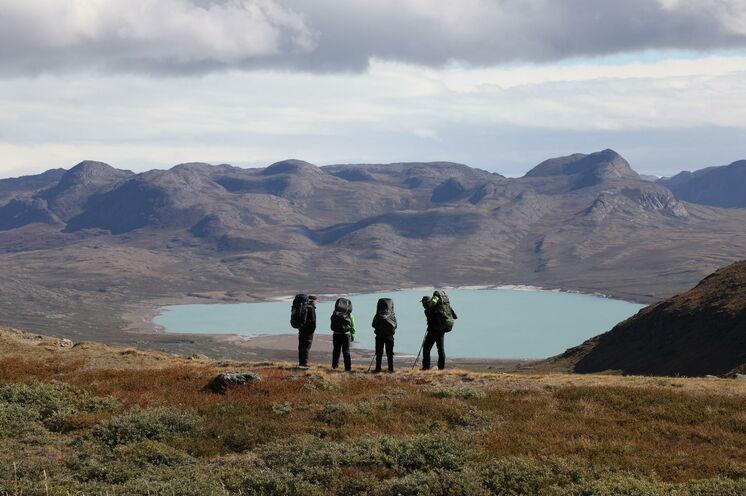 Arktische Wildnis fernab jeglicher Zivilisation.