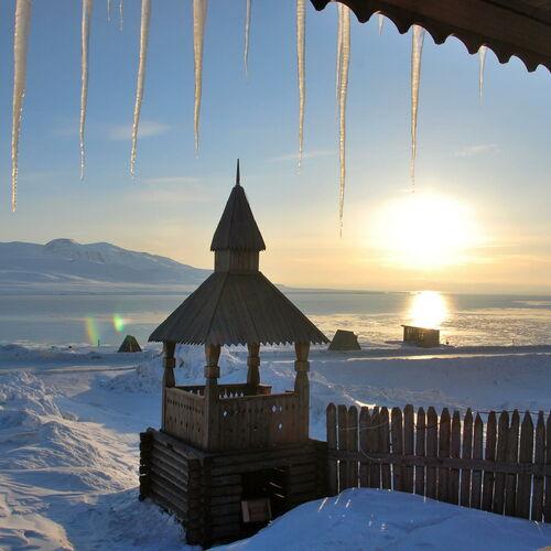 Winter auf Spitzbergen