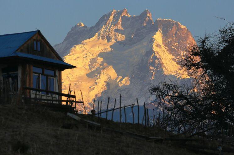 In Nagtali haben Sie einen traumhaften Rundumblick auf den Langtang- und Ganesh-Himal