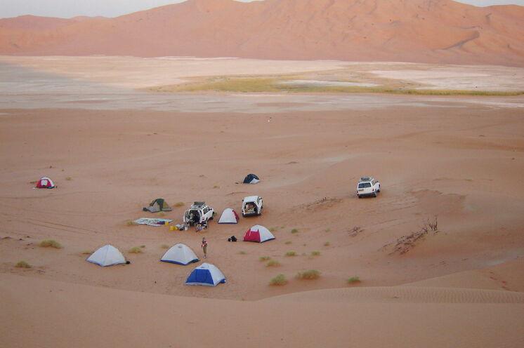 Es erwarten Sie Entschleunigung und Ruhe - Ihr Zeltcamp reist mit Ihnen