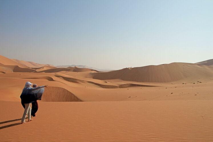 Weite und Ruhe in der Wüste erleben