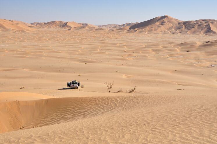 Dünenmeer soweit das Auge reicht und angenehm warme Temperaturen sind der Garant für einen gelungenen Urlaub