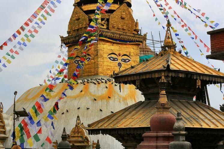 Namaste - Willkommen in Nepal! (Foto: Roland Lubiger)
