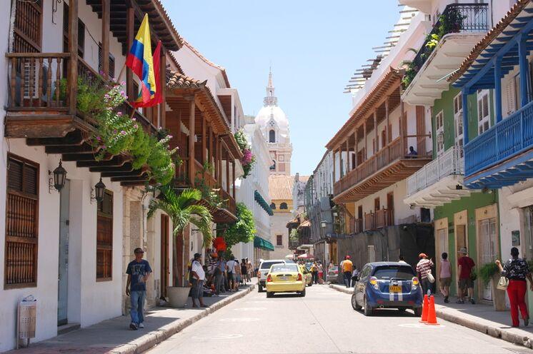 Cartagena, mit Karibikcharme und Kolonialarchitektur, die wohl schönste Hafenstadt Südamerikas