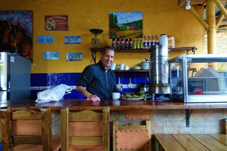 """Auf Ihren """"tinto"""" (Kaffee) sind die Kolumbianer besonders stolz"""