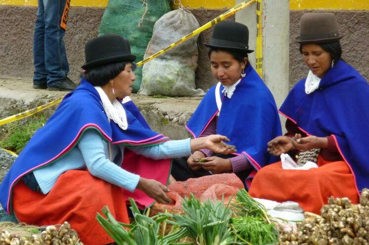 Im Örtchen Silvia treffen Sie auf die Guambianos, die indigenen Einwohner Kolumbiens