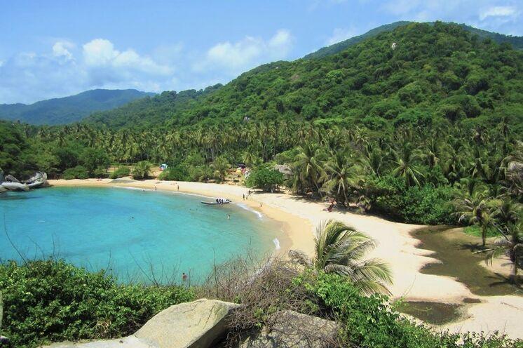Entspannung pur an den Karibik-Stränden des Tayrona-Nationalparks