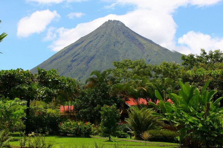 Wohl der berühmteste Vulkan Costa Ricas: der Arenal