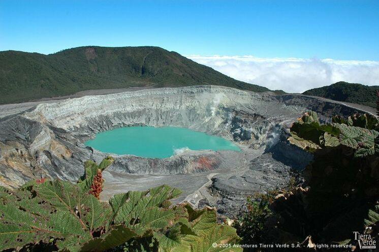 Auch der Vulkan Poás steht auf dem Programm. Sie wandern zum Krater und zu einer versteckten Nebenlagune.