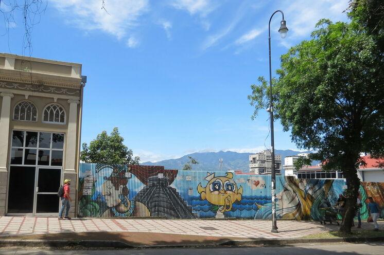 Tag 13: Sie besuchen das ehemalige Villenviertel Escalante in der Hauptstadt San José