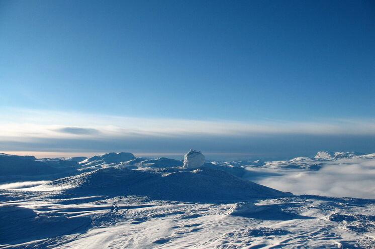 Immer wieder werden Sie mit einem beeindruckenden Blick über die Hardangervidda ins Staunen versetzt