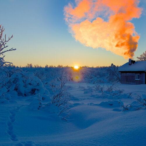 Fjellskitour durch die Finnmarksvidda