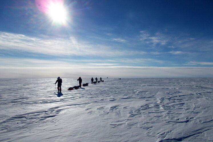 Die endlosen Weiten Grönlands...