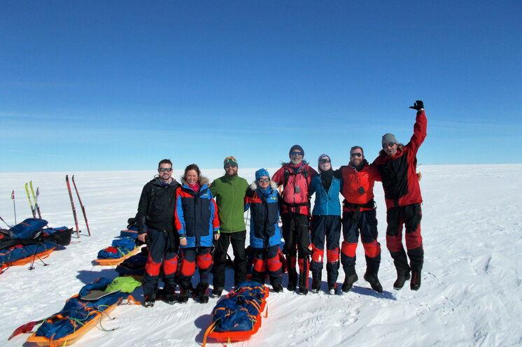 Im Freudentaumel über das geglückte Abenteuer erreichen Sie Kangerlussuaq.