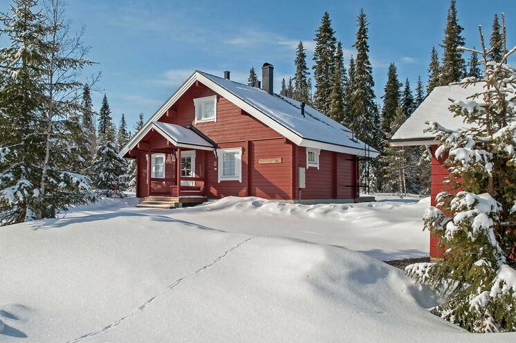 In Lappland erwarten Sie Urgemütliche skandinavische Blockhütten