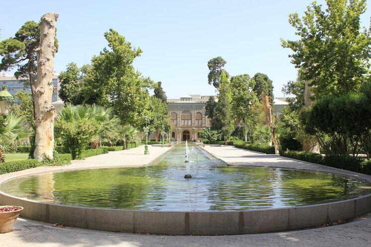 Golestan-Palast in Teheran – eine der zahlreichen UNESCO- Weltkulturerbestätten im Iran