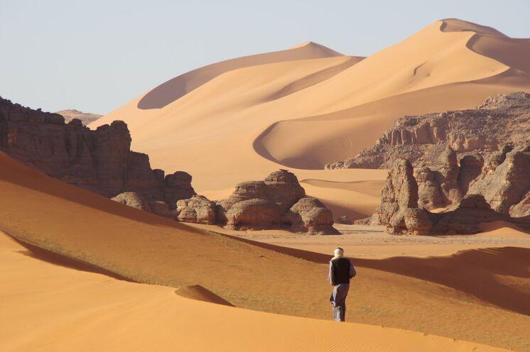 Einmalige Dünen- und Felslandschaften werden Ihnen auf der Reise begegnen
