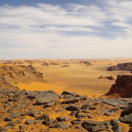 Wüstentrekking durch das Tassili n´Ajjer und Tassili Tadrart