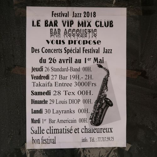 27. Jazz- und Musikfestival in Saint-Louis
