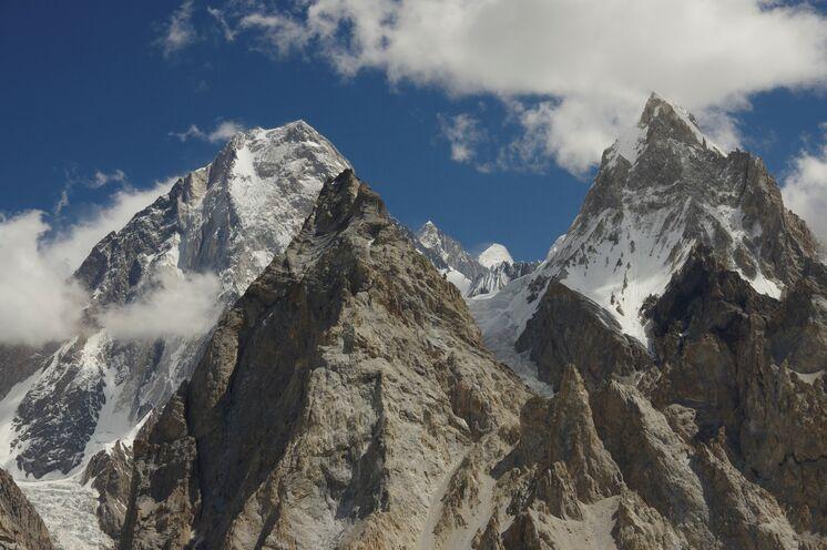 Die Gasherbrum Kette - Beeindruckende Panoramen der wohl spektakulärsten Gebirgsarchitektur