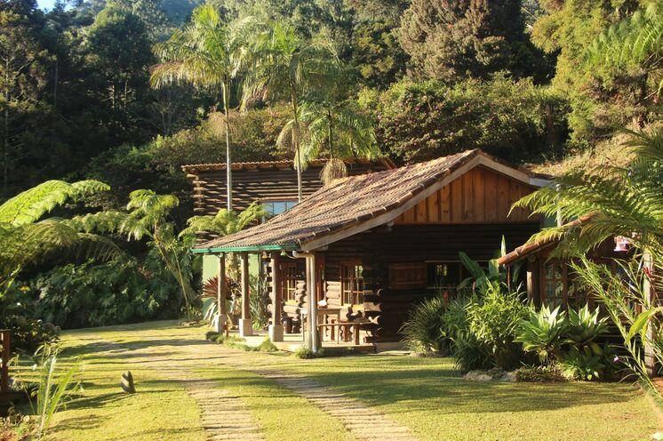 Brasilien. Nach Rio zur Unterkunft im Atlantischen Regenwald, Rainers`s Eco Lodge.