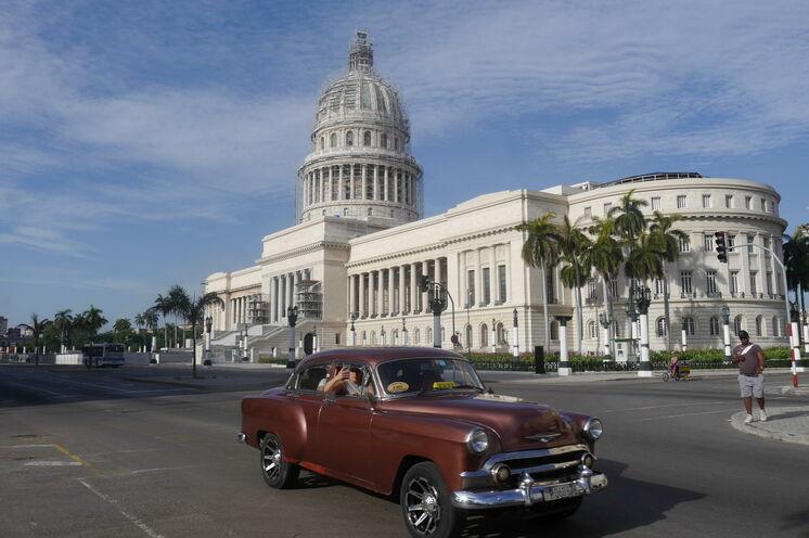 Die Highlights Zentral- und Westkubas, z.B. das berühmte Capitol in Havanna, lernen Sie aktiv kennen