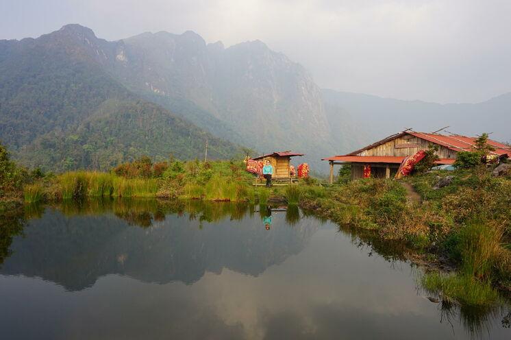 Immer wieder eröffnet sich Ihnen bei Ihrem 3-tägigen Trekking ein fantastischer Ausblick auf die umliegende Bergwelt