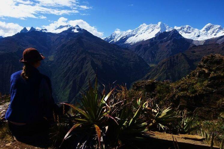 Zudem führt der Trek über den aussichtsreichen San Juan-Pass (4100 m)...
