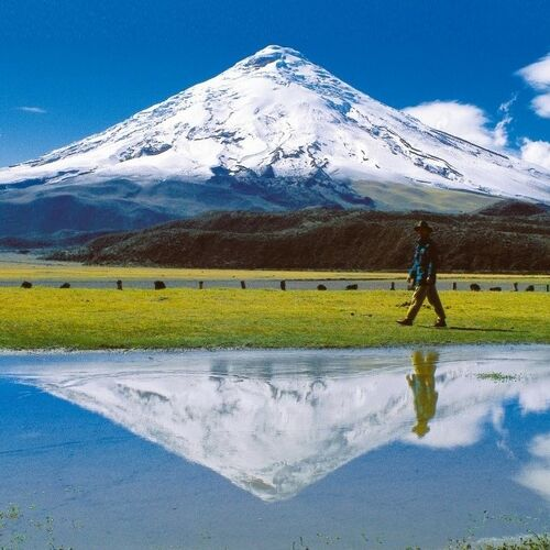 Entlang der Straße der Vulkane von den Anden zum Pazifik