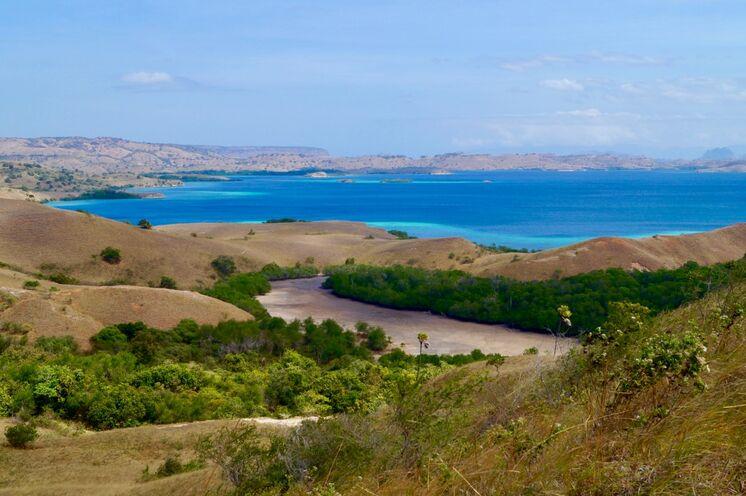 Atemberaubend - die Inselgruppe der Komodos!