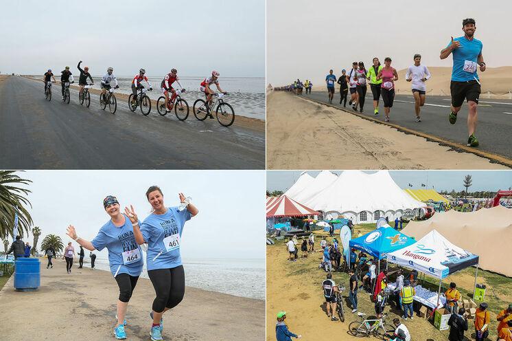 Das Lauf- und Radsport-Event am Atlantischen Ozean