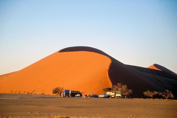 Big Daddy - höchste Düne mit 375 m - wer möchte, kann die Besteigung wagen