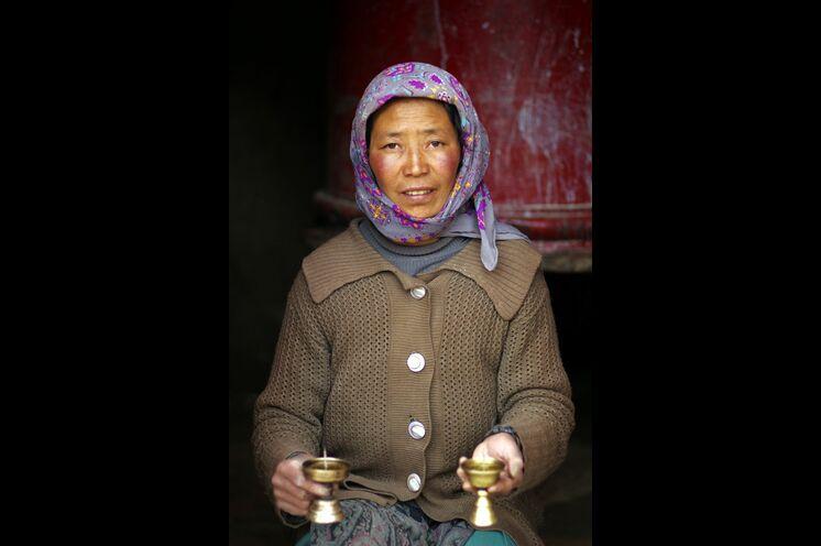 Die Menschen im Markha-Tal sind tiefgläubige Buddhisten