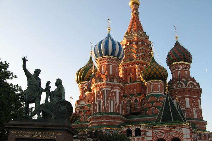 Ein kleiner Spaziergang über den Roten Platz darf auf dieser Reise natürlich nicht fehlen