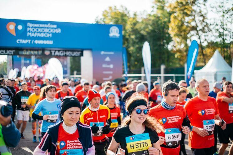 Start und Ziel des Laufs befinden sich auf dem Gelände des Olympiastadions Luschniki