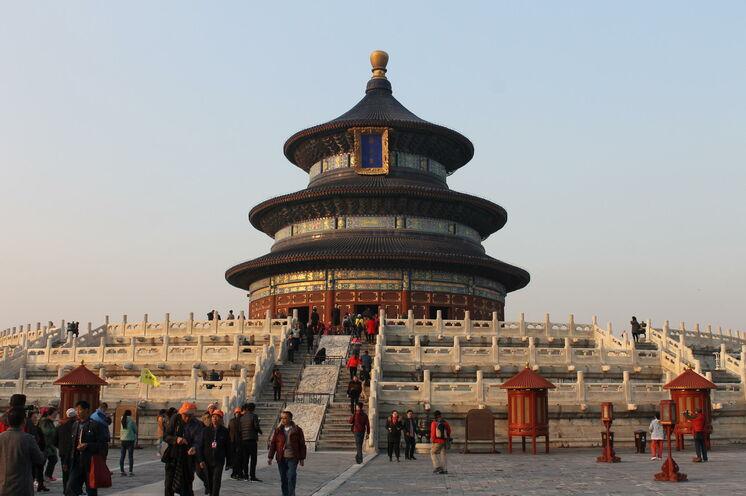 Im Himmelstempel beteten die Kaiser der Ming- und Qing-Dynastien jedes Jahr für eine gute Ernte