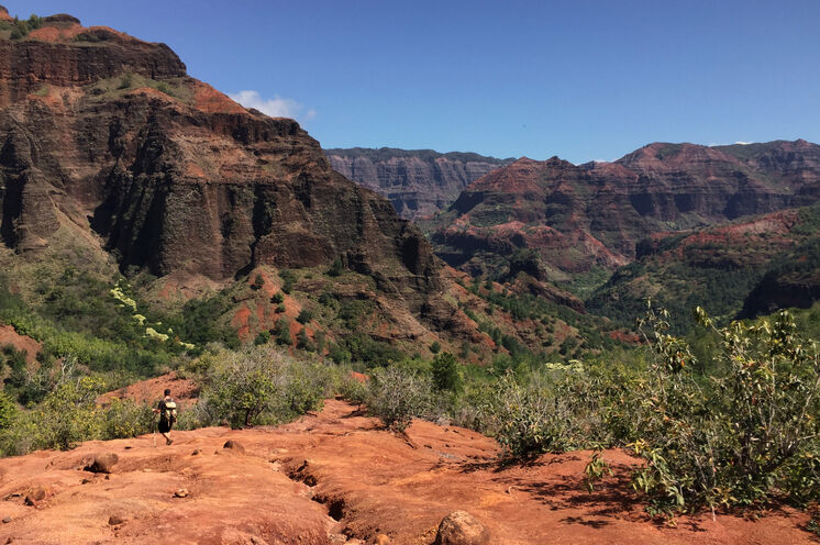 "Am ""Grand Canyon"" des Pazifiks: dem imposanten Waimea Canyon"